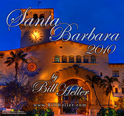 The Santa Barbara Calendar by Bill Heller - Cover Art